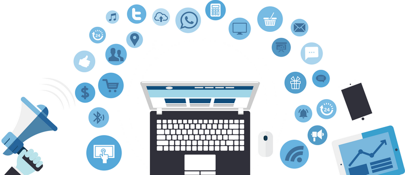 Как установить социальные кнопки на вашем сайте?: digital-marketing-mobile, картинка, фото, изображение