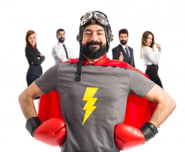 super-hero-proud-of-him-self_1368-12498 Продвижение клининговых услуг, картинка, фото, изображение